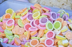 Color of sweet heap Royalty Free Stock Images