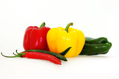 Color Sweet Pepper Stock Photos