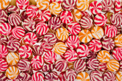 Color sweets Stock Images