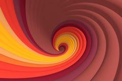 Color swirl Marsala Royalty Free Stock Photography