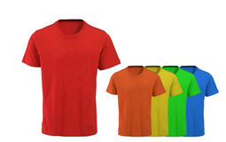 Color t-shirts Stock Images