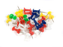 Color tacks Stock Images
