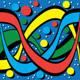 Color Tangle Stock Photos