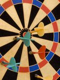 Color Target Magnetic Darts Royalty Free Stock Photos