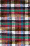 Color tartan background closeup Stock Image