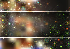 Color technology communication background. Stock Image