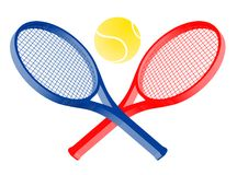 Color tennis Royalty Free Stock Image