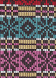 Color textile carpet pattern Royalty Free Stock Images