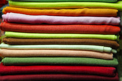 Color textile pile Royalty Free Stock Images