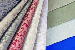 Color textiles Stock Photo