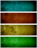 Color texture. Blue, red, yellow and green texture with bright effects stock illustration