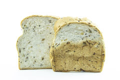 Color texture bread with sesame Royalty Free Stock Photos