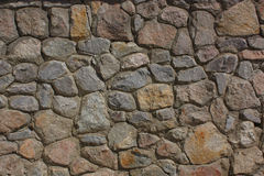 Color texture from stone masonry Royalty Free Stock Photo