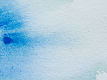 Color and texture of water color on paper Stock Image