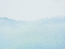 Color and texture of water color on paper Royalty Free Stock Image