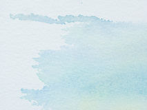 Color and texture of water color on paper Stock Photography