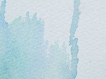 Color and texture of water color on paper Royalty Free Stock Photography