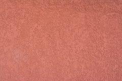 Color texturizado de la terracota del yeso Foto de archivo