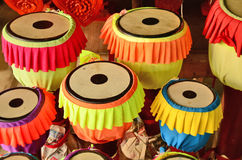 Color Thai long tail drums Stock Photo