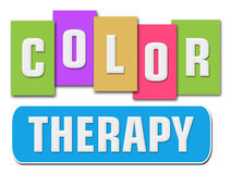 Color Therapy Colorful Stripes Royalty Free Stock Images