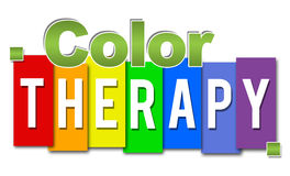 Color Therapy Professional Colorful Royalty Free Stock Photography