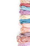 Color thread. The color thread is on white background Royalty Free Stock Image