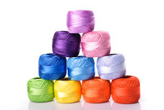 Color threads Royalty Free Stock Photo