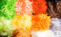 Color threads Stock Image