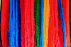 Color threads Royalty Free Stock Images