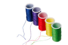 Color threads Royalty Free Stock Photography