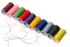 Color threads Stock Photography
