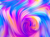 Color Threads. Pattern of multiple colored fibers. Overflow Colors Series royalty free stock images