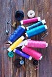 Color threads Stock Photos