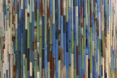 Color of tile array. Tile array with blue color royalty free stock images