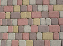 Color tiles Royalty Free Stock Photography