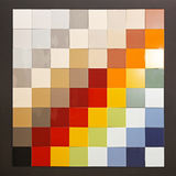 Color tiles Stock Photos