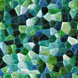 Color tiles seamless mosaic Royalty Free Stock Images