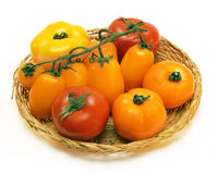 Color tomatos Royalty Free Stock Image
