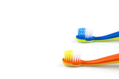 Color toothbrushes Royalty Free Stock Image