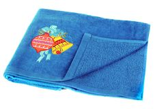 Color towel Royalty Free Stock Photos
