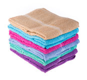 Color towel Royalty Free Stock Photo