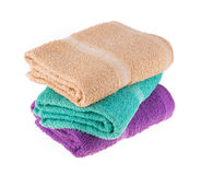 Color towel Stock Photo