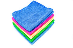 Color towels Stock Photography