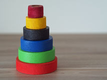 Color tower Royalty Free Stock Photos