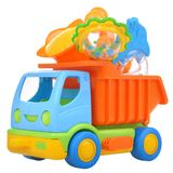 Color toy car truck with rattles Stock Photo