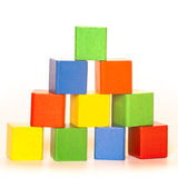 Color toy tower Stock Photography