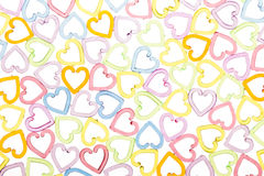 Color translucent heart Royalty Free Stock Images