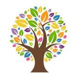 Color Tree vector illustration