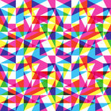 Color trend pattern. Seamless funky cyan magenta pattern Stock Images