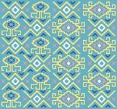 Color tribal étnico de la diversión del modelo Fotos de archivo